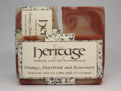 Orange, Patchouli and Rosemary